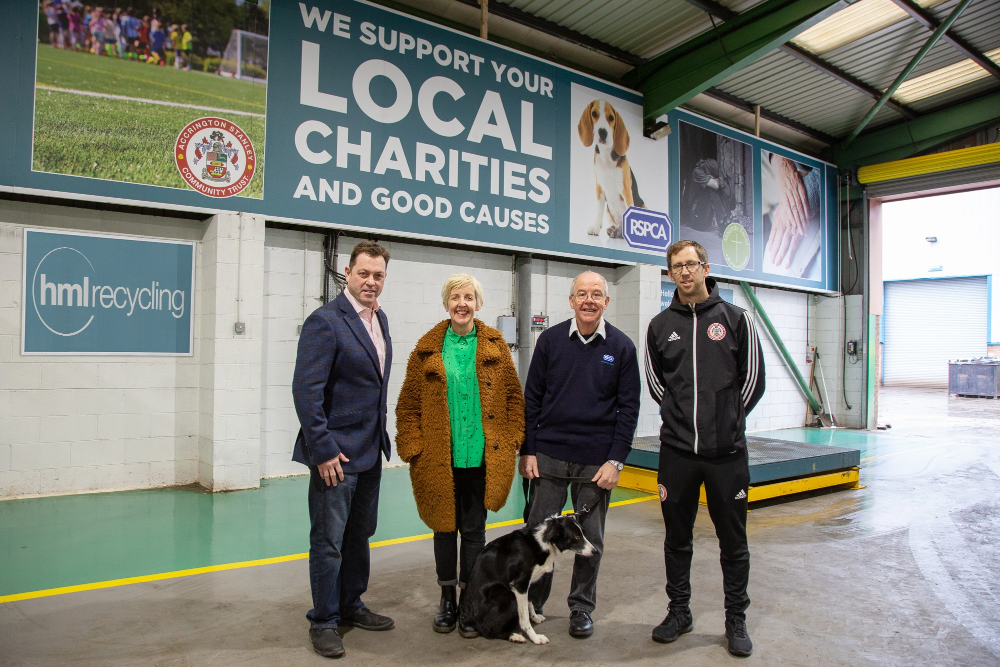 HML Recycling's Scrap for Charity Initiative Launched to the Public and Business Community