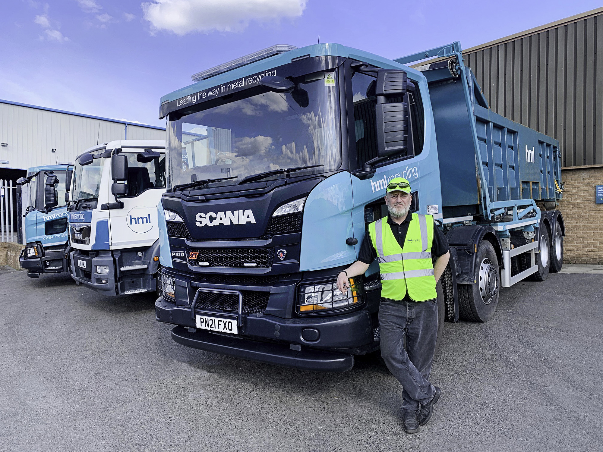 HML RECYCLING REDUCE THEIR CARBON FOOTPRINT WITH A £140K INVESTMENT